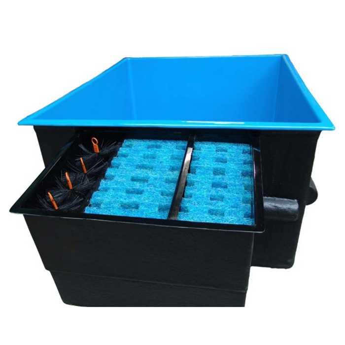 aquiflor bpl41 bassin rectangulaire hors sol 140 x 170. Black Bedroom Furniture Sets. Home Design Ideas