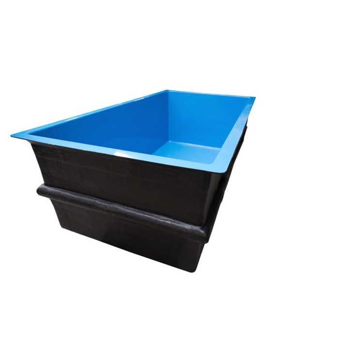 bpl42 bassin rectangulaire hors sol 140 x 170 x 80 cm