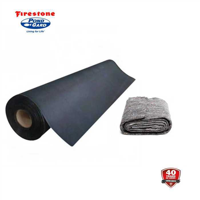 Aquiflor pack bache firestone feutre for Bache firestone