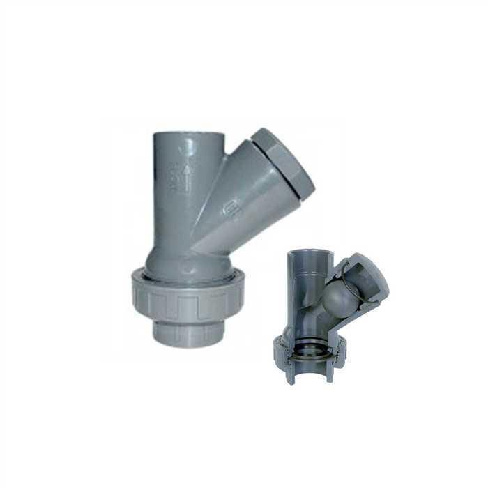 aquiflor pvc 32mm balle clapet anti retour y type. Black Bedroom Furniture Sets. Home Design Ideas