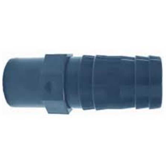Aquiflor pvc raccord pour tuyau souple 20 mm - Raccord tuyau pvc ...