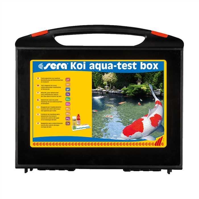 Aquiflor Sera Koi Aqua Test Box Analyse D Eau